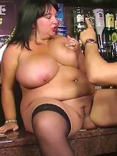 Thick BBW brunette...
