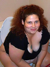 playful chubby milf...