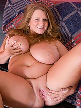 chubby chick with big...