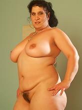 Horny plumper totally...